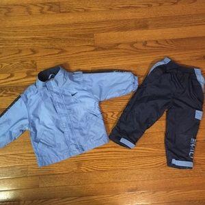 2 pc Nike workout set navy & blue size 3 toddler